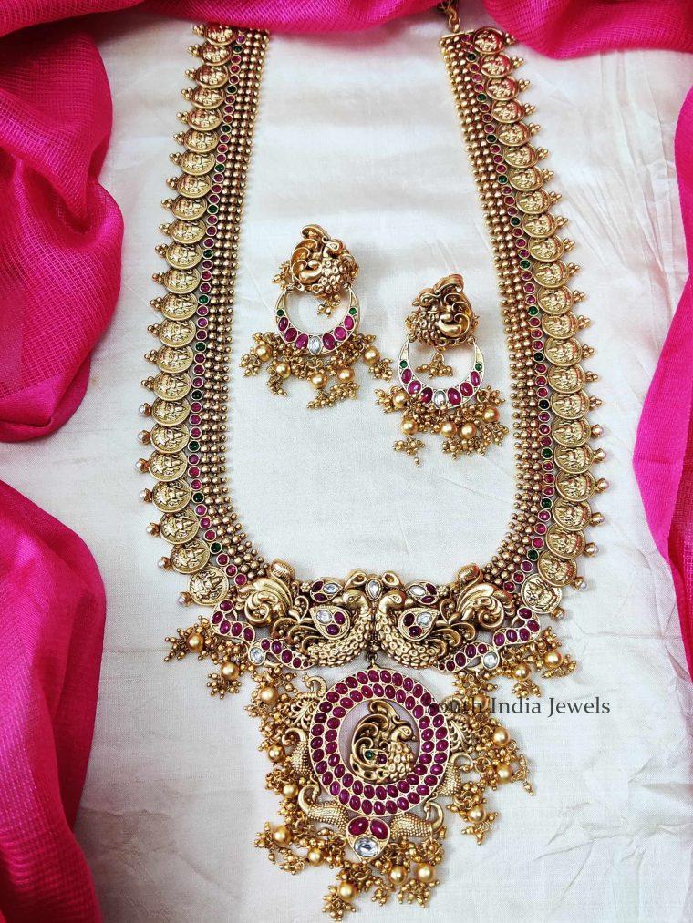 Traditional Lakshmi Coin Haaram