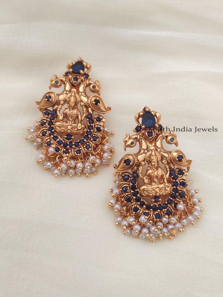 Traditional Lakshmi Design Earrings