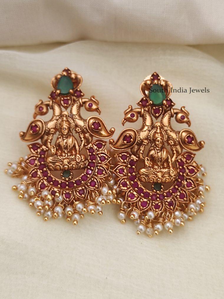 Traditional Lakshmi Earrings