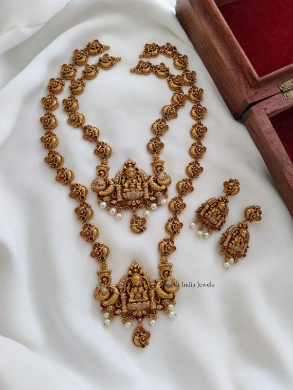 Traditional Lakshmi Semi Bridal Combo