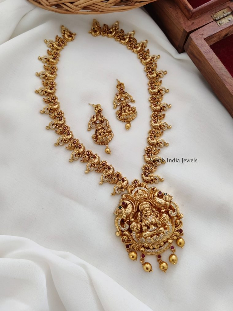 Traditional One Gram Lakshmi Haram