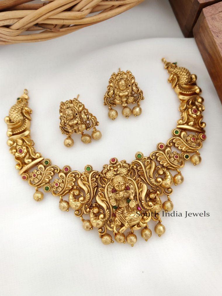 Traditional lakshmi Design Necklace -1