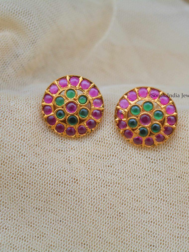 Trendy Flower Design Earrings