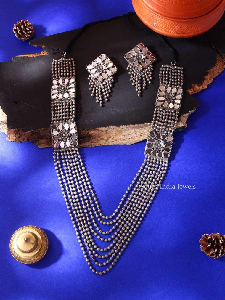 Trendy Handmade German Silver Haram