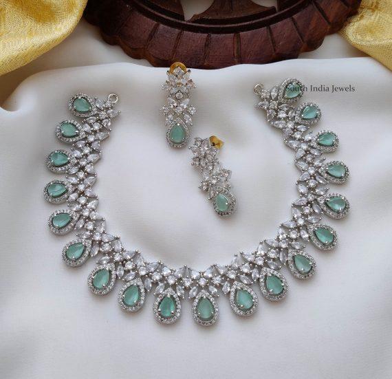 Trendy Rodium Polish Necklace (3)