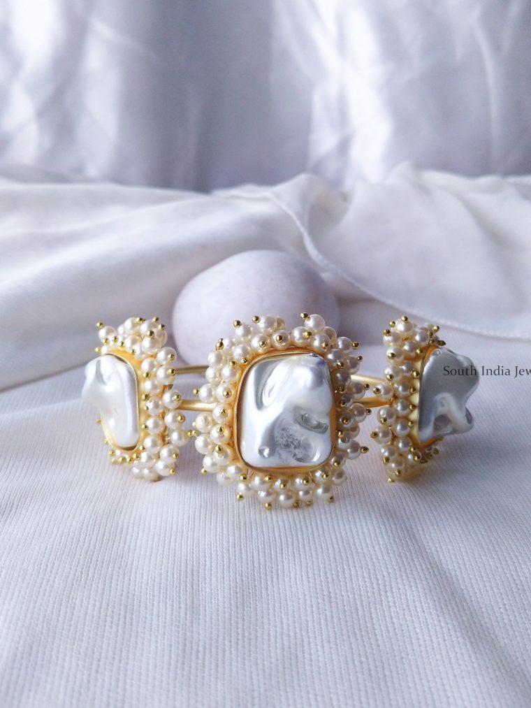 Unique Baroque Pearl Bracelets (2)