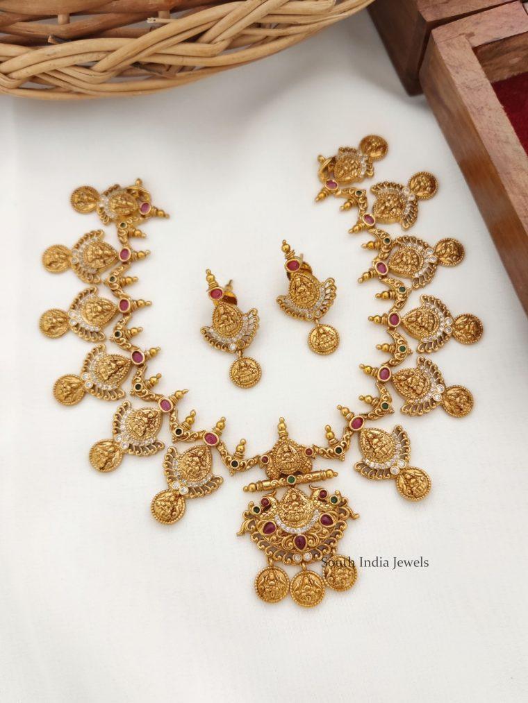 Unique Lakshmi Design Necklace