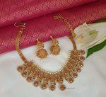 Amazing Lakshmi Matte Finish Necklace