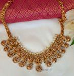 Amazing Lakshmi Matte Finish Necklace (3)