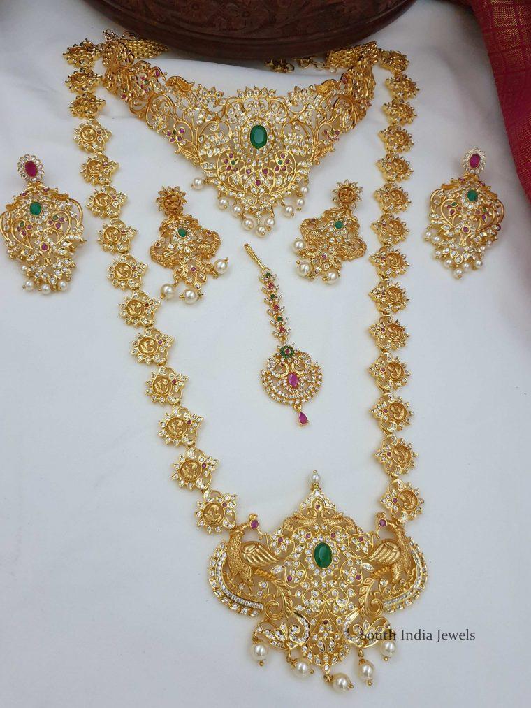 Amazing Peacock Design Bridal Combo (3)