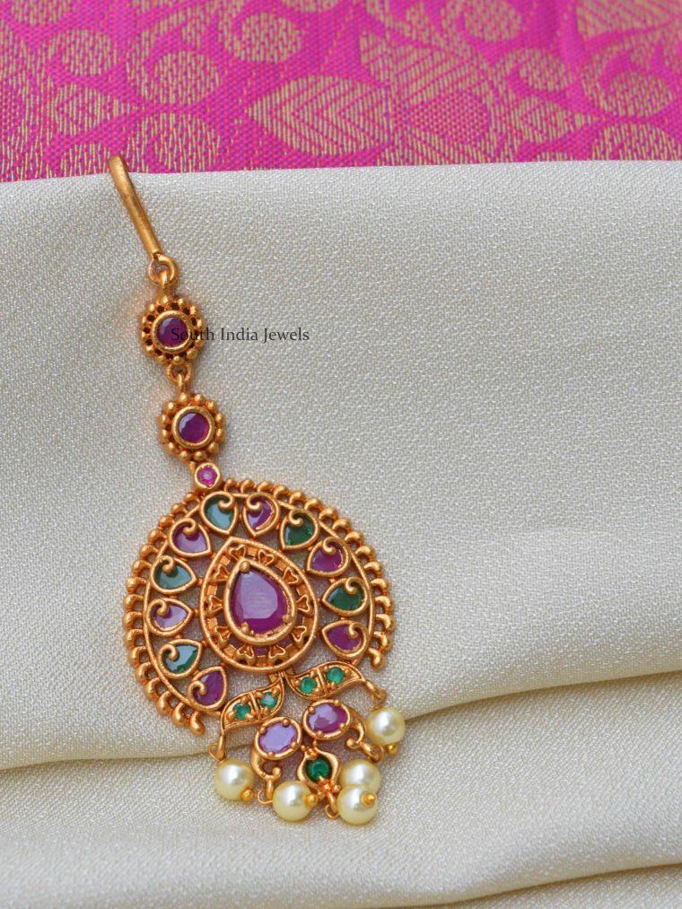 Beautiful Design Maang Tikka