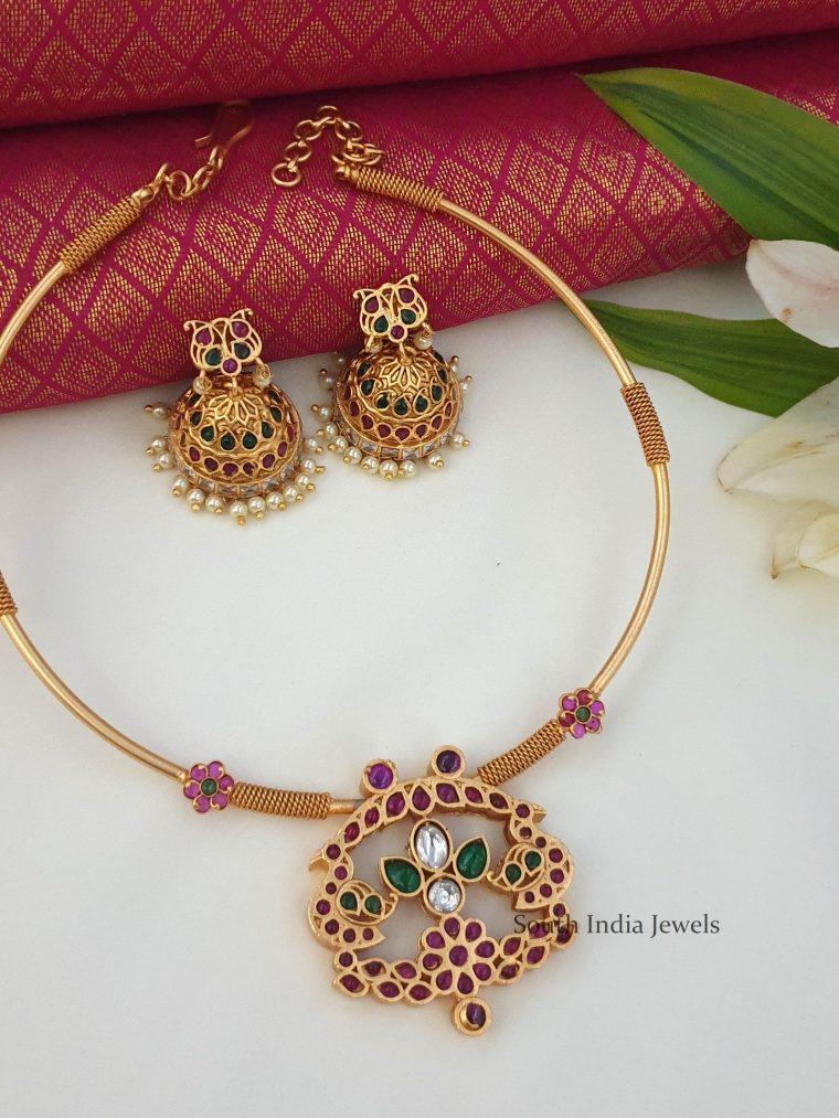 Beautiful Kante Design Necklace