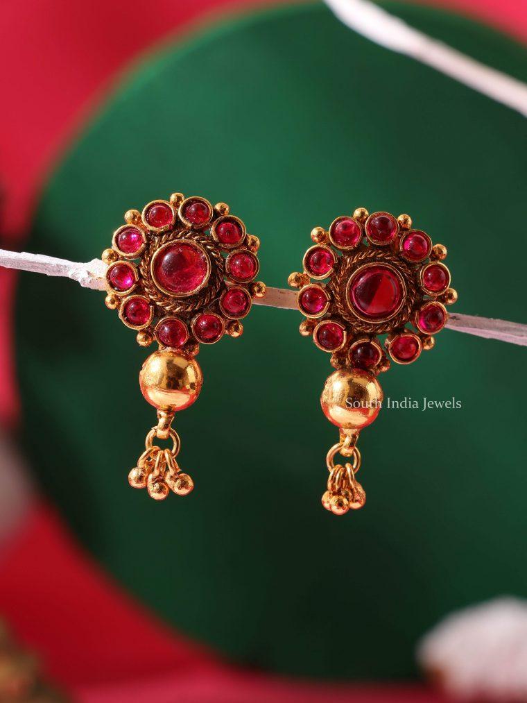 Beautiful Kemp Stone Earrings (3)