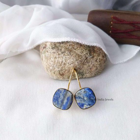Beautiful Natural Raw Crystal Hook Earrings (7)