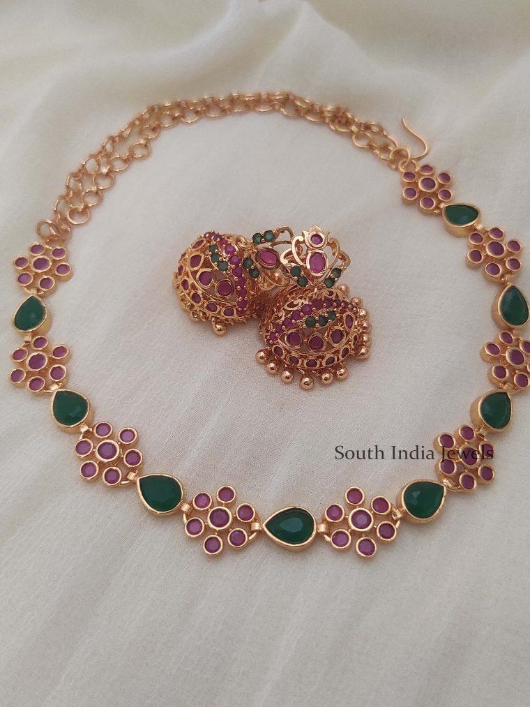 Beautiful Palaka Style Necklace