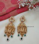 Beautiful Radha Krishna Matte Finish Necklace