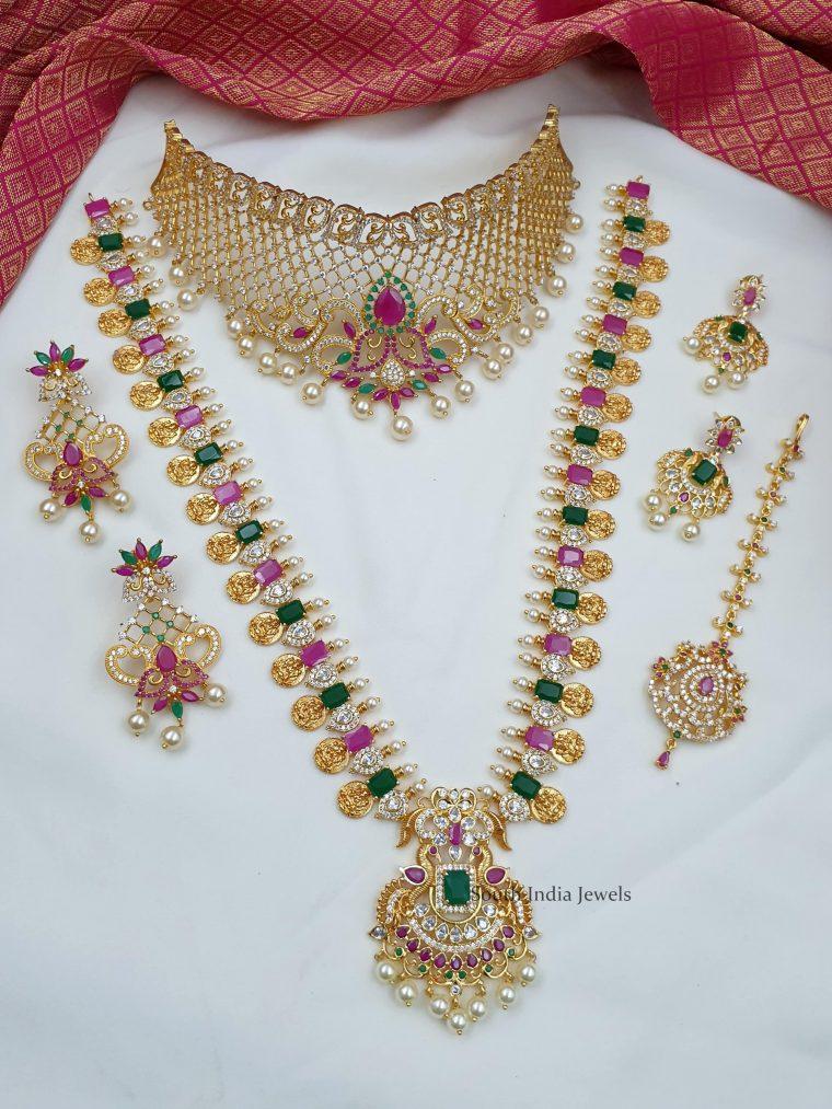 Beautiful & Traditional Semi Bridal Combo-01