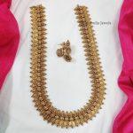 Bridal Lakshmi Coin Long Haram