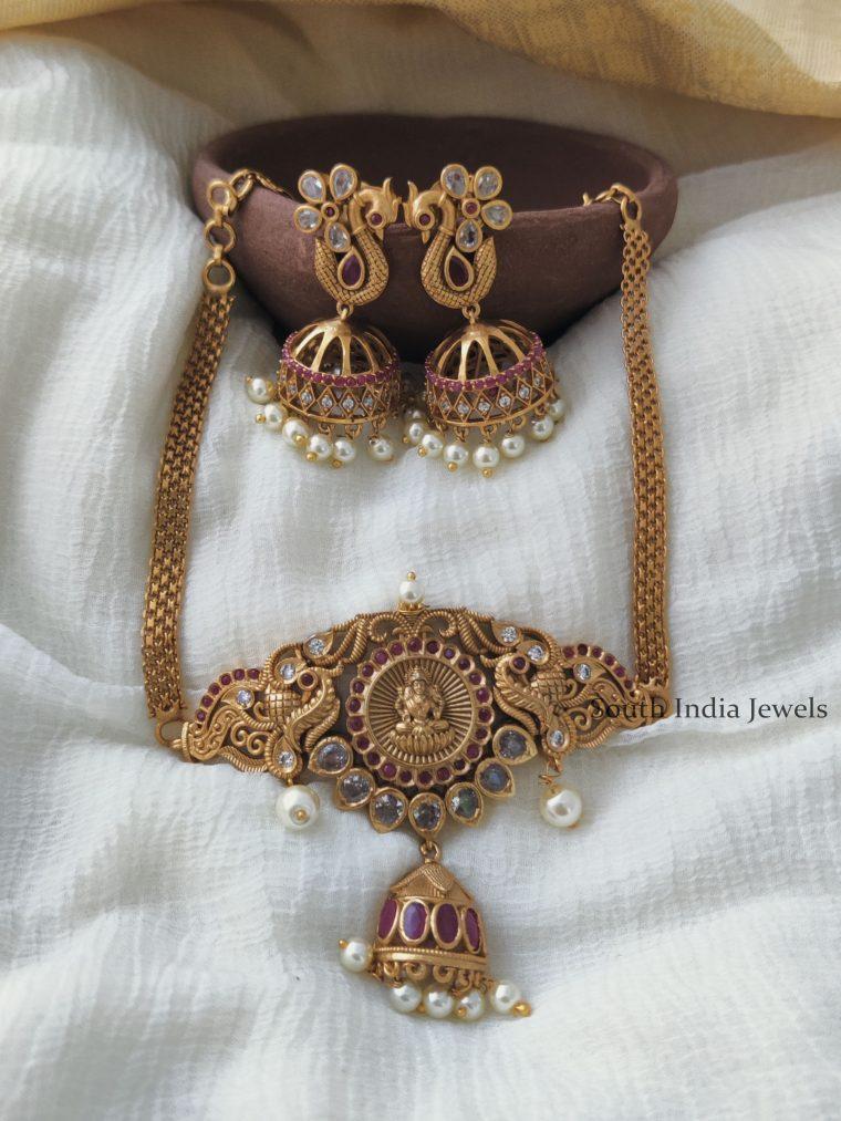 Classic Lakshmi Design Choker