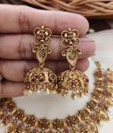 Elegant Flower Design Antique Necklace (2)