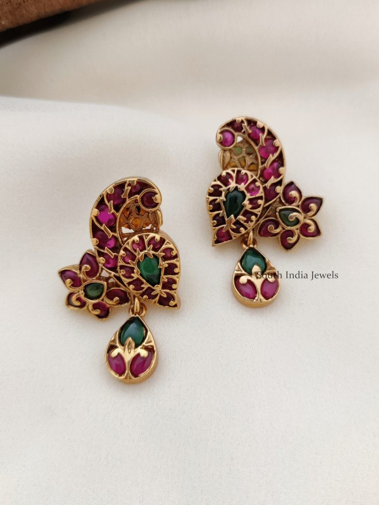 Elegant Kemp Peacock Design Earrings (2)