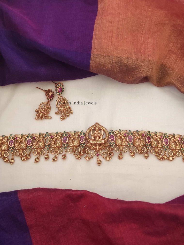 Elegant Lakshmi Design Choker