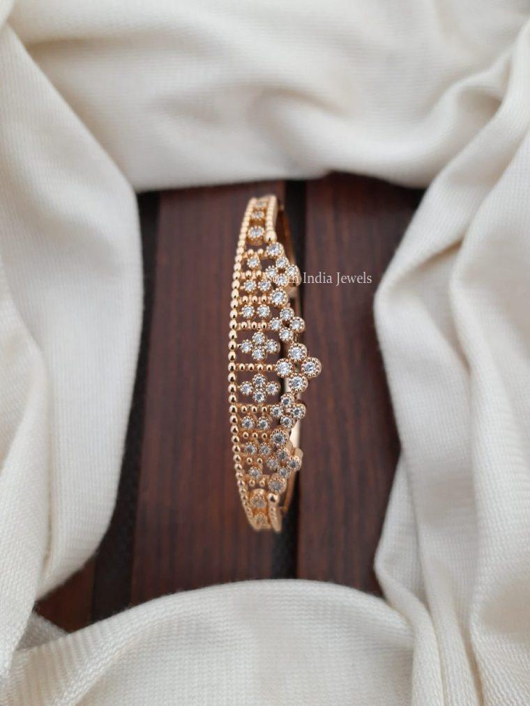 Embellished Cubic Zircon Bracelet