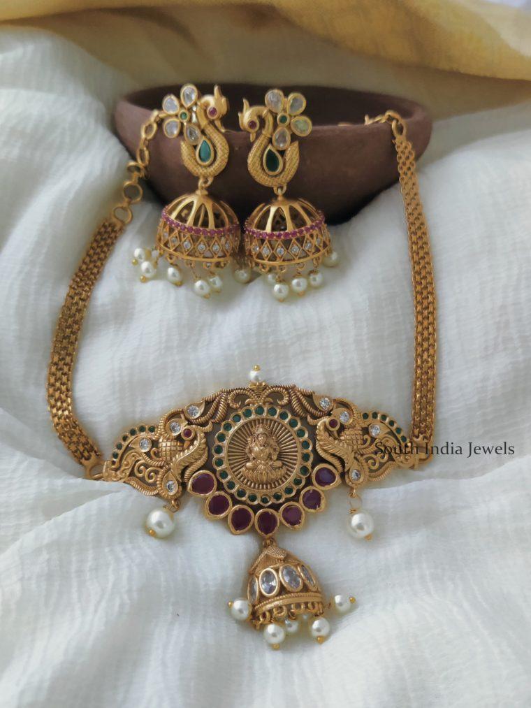 Ethnic Lakshmi Design Choker