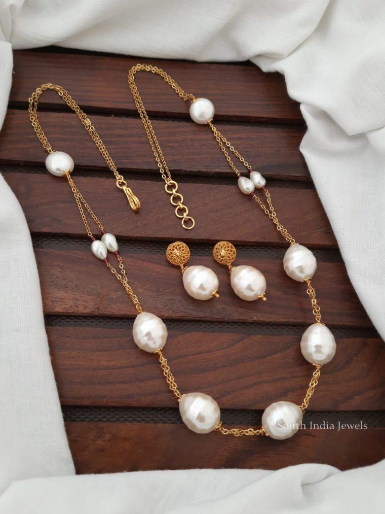 Fancy Baroque Pearl Chain