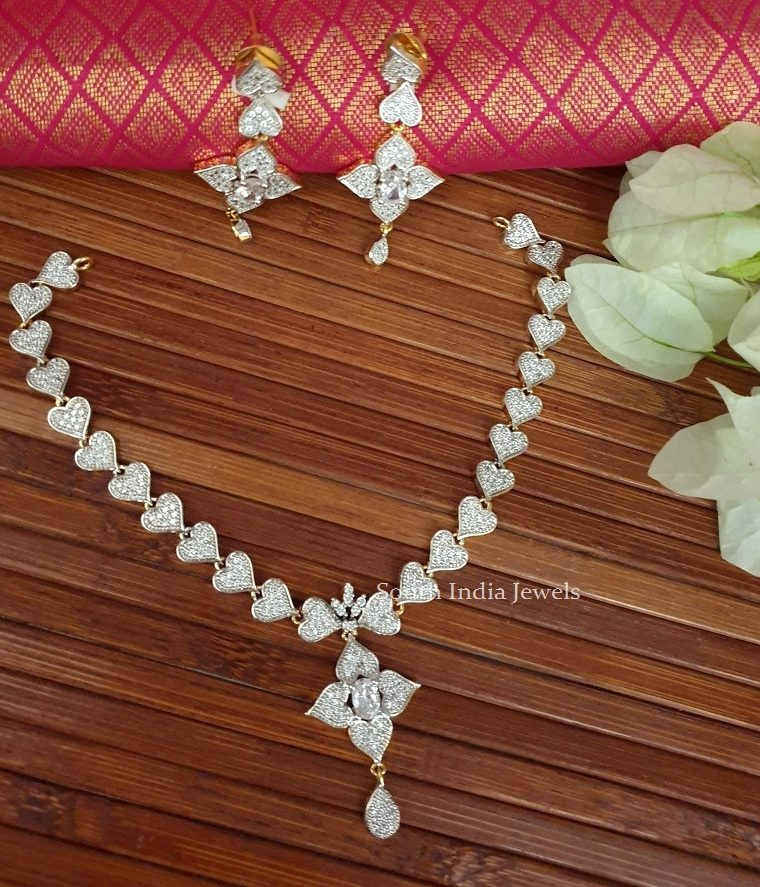 GJ Stone Necklace Set