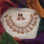 Glamorous Guttapusalu Necklace