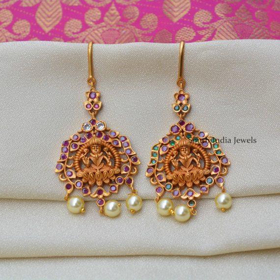 Gorgeous Lakshmi Design Maang Tikka