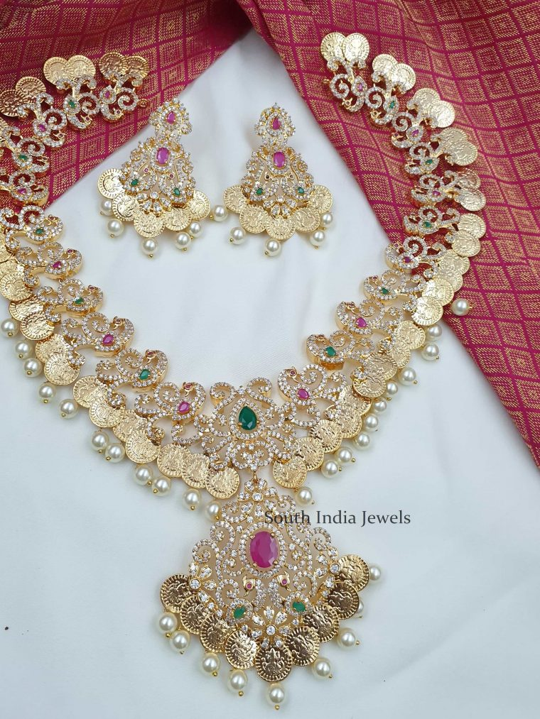 Gorgeous Lakshmi Kaasu Necklace