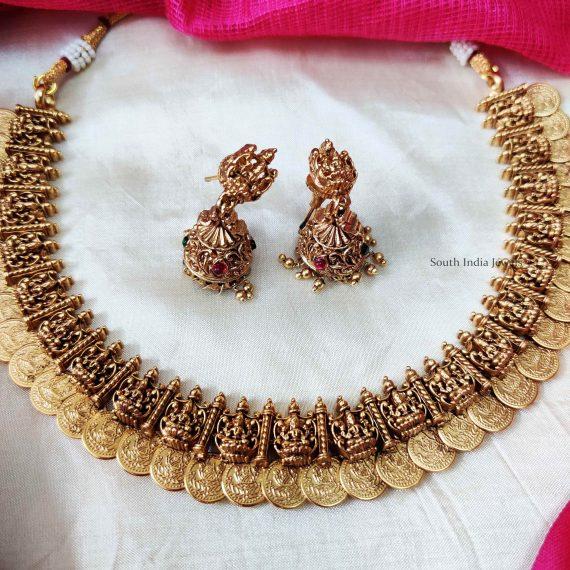 Grand Bridal Lakshmi Coin Necklace (2)