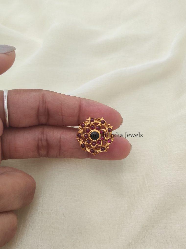 Heavy Kemp Stone Necklace
