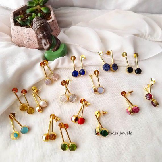 Simple Ladle Designer Earrings