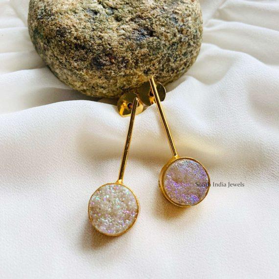 Simple Ladle Designer Earrings (3)