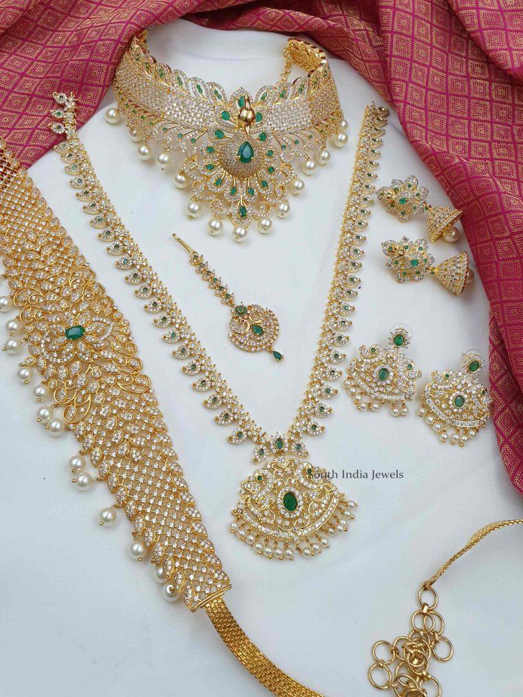 Stunning Design Bridal Combo Set