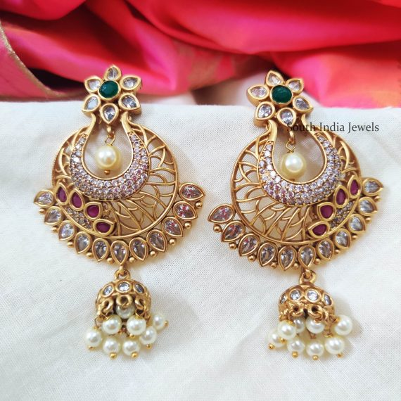 Traditional AD Stone Earrings