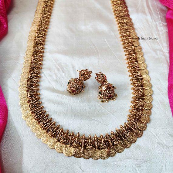 Traditional Lakshmi Coin Haram (2)