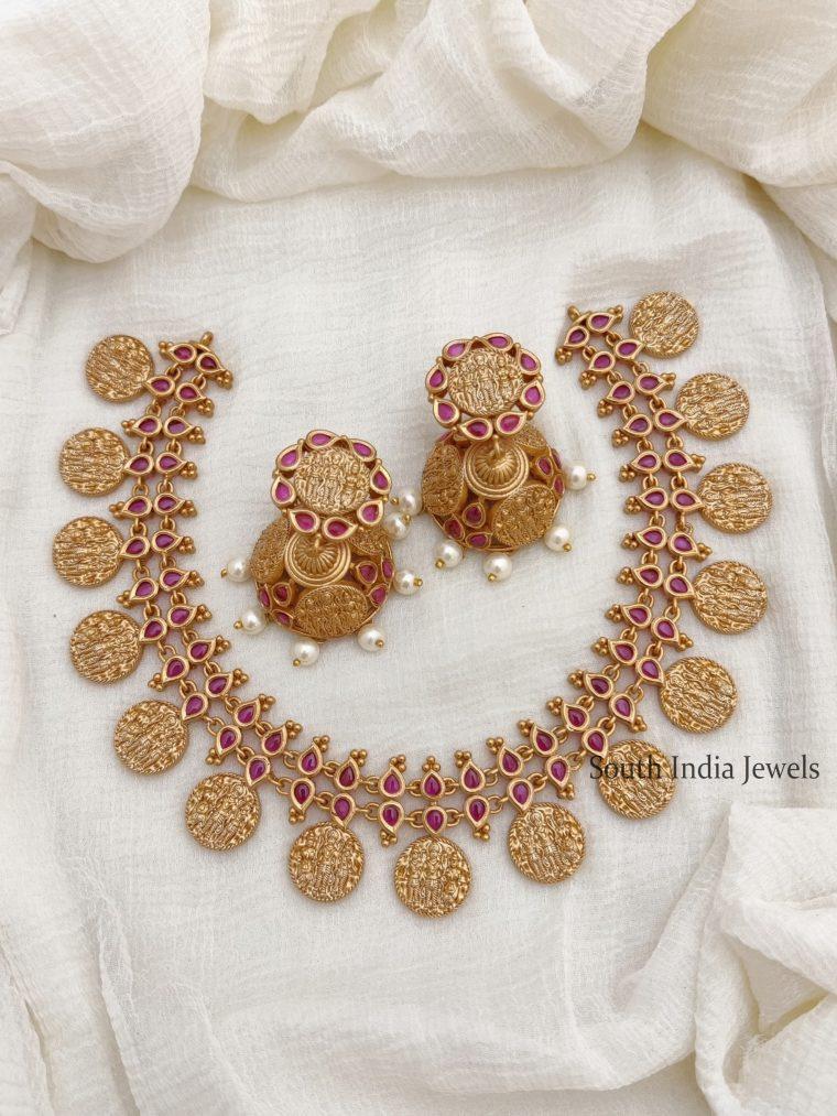 Traditional Ram Parivar Kemp Necklace