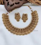 Traditional Ramparivar Coin Necklace