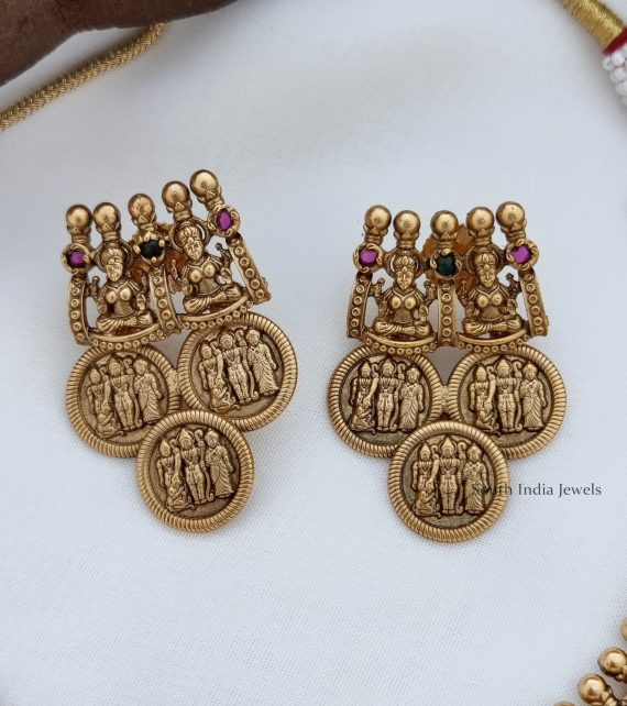 Traditional Ramparivar Coin Necklace (2)