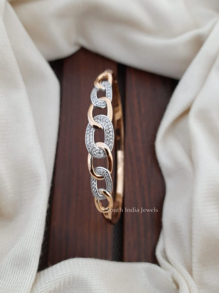 Unique Design CZ Stone Bracelet