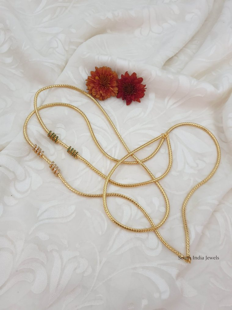 Amazing Design Mugappu Chain (4)