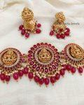 Amazing Kemp Lakshmi Bridal Choker