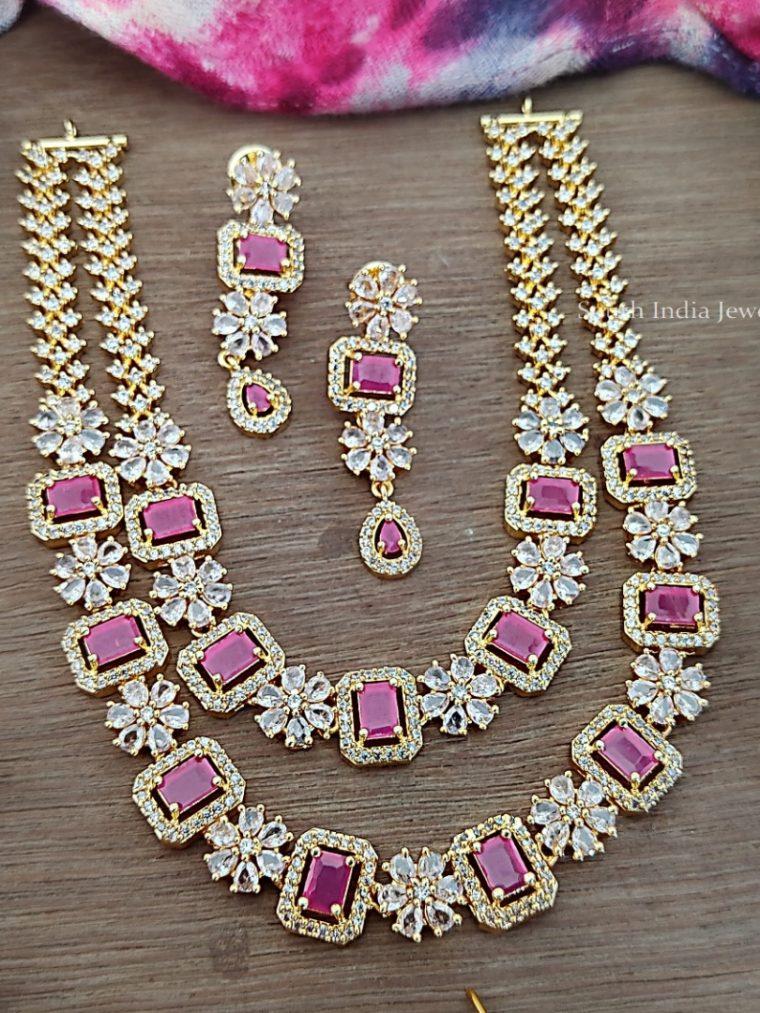 Amazing Layered AD Stone Necklace (2)