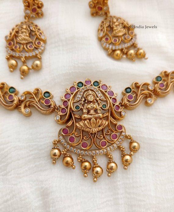 Amazing-Peacock-Lakshmi-Design-Choker