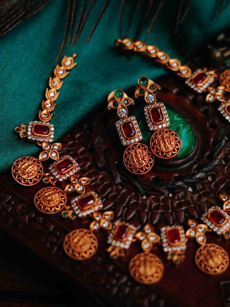 Antique Ram Parivar Necklace (2)
