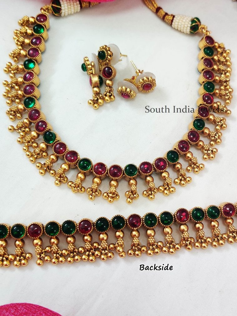 Beautiful Kemp with Green & Green with Kemp Necklace